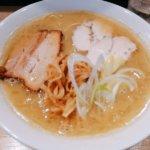 塩竈ラーメンの新星「自家製麺鶏そば いちむら」で濃厚鶏塩そばを食す
