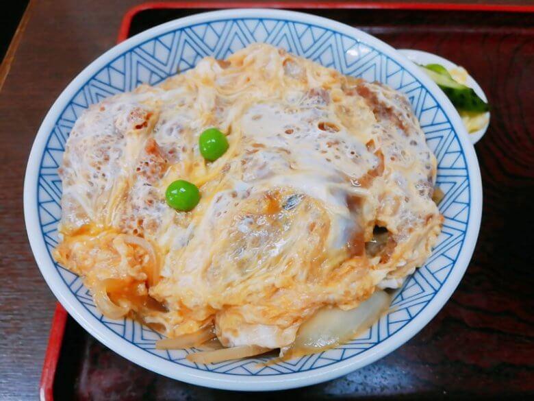 武田屋そばのカツ丼