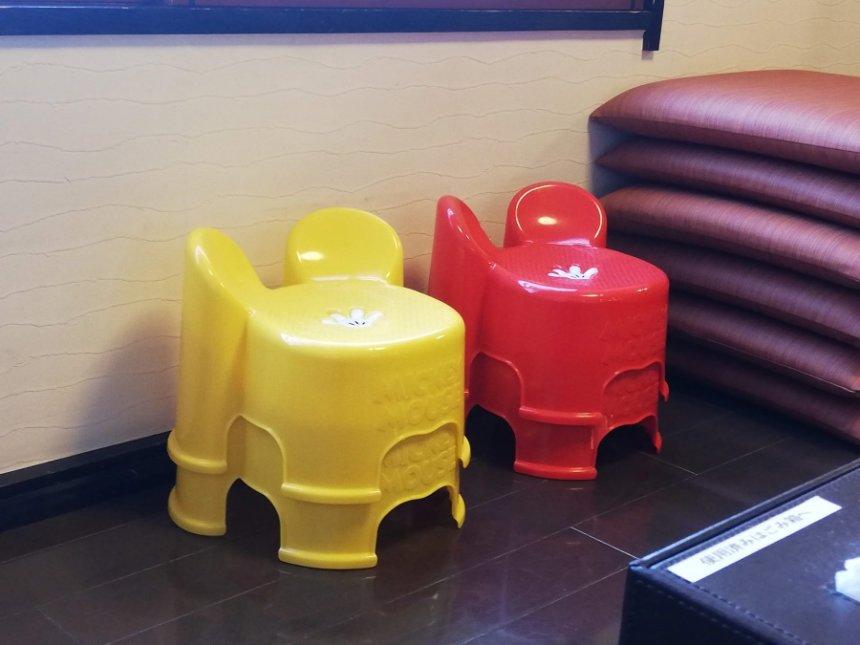 子ども用座椅子