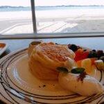 【七ヶ浜】シチノカフェで海を見ながらカフェ&パンケーキ!デートに◎