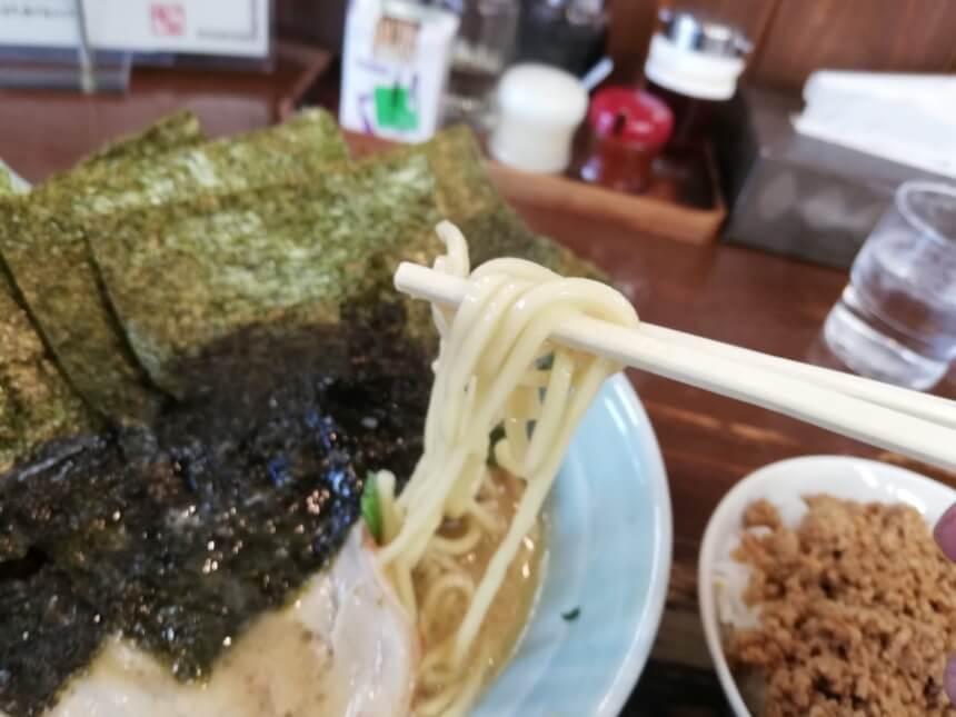 のりらーめんの麺