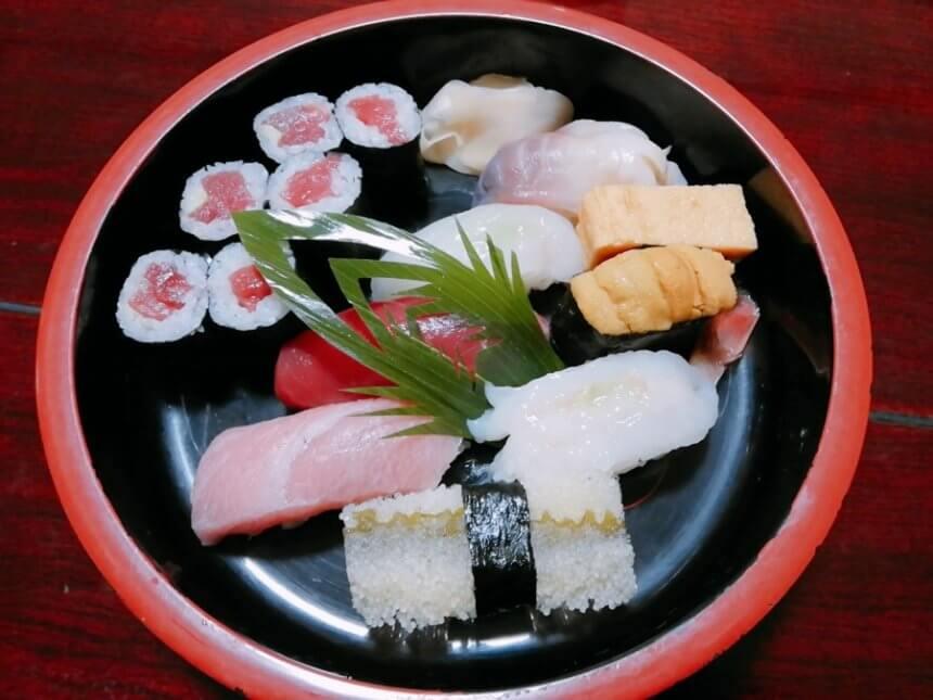 亀喜寿司のにぎり亀