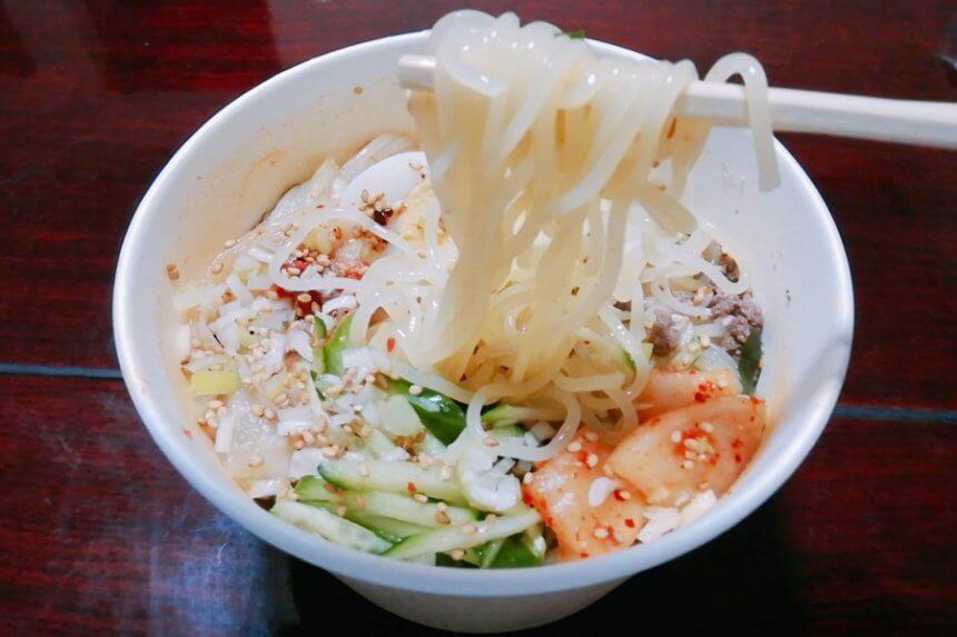 京都苑の冷麺