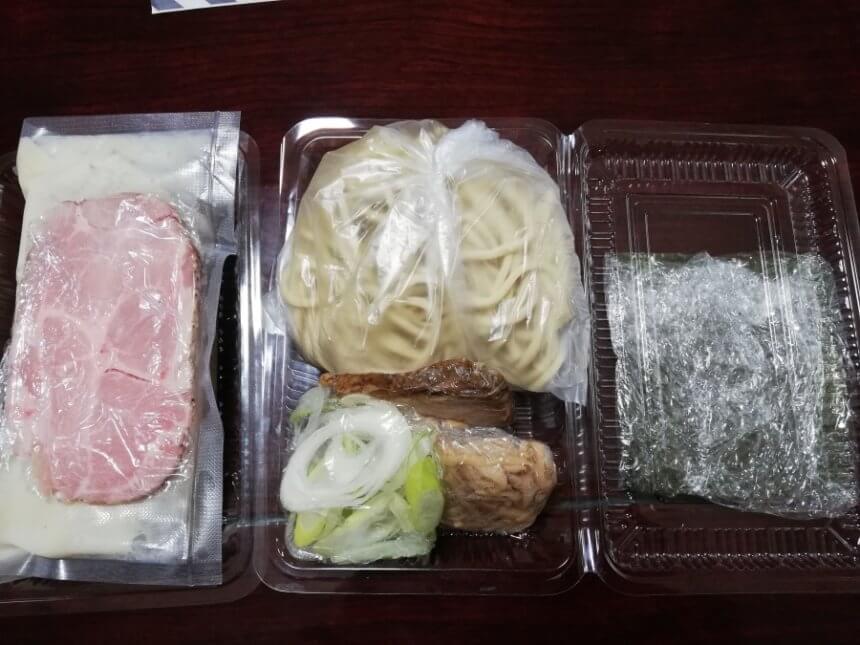 テイクアウト用つけ麺