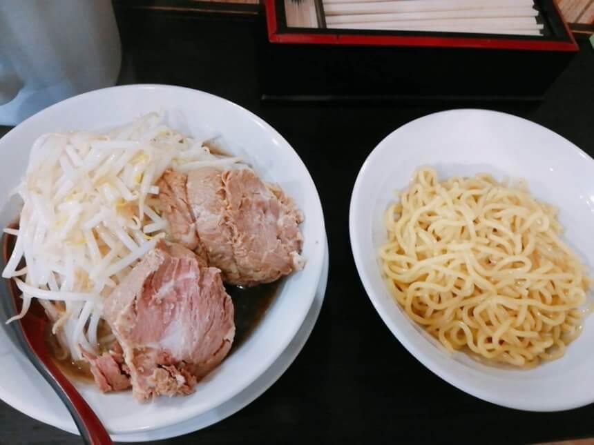 香麺の醤油つけ麺