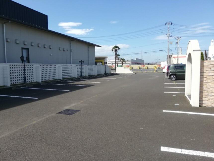 カリメーラの駐車場