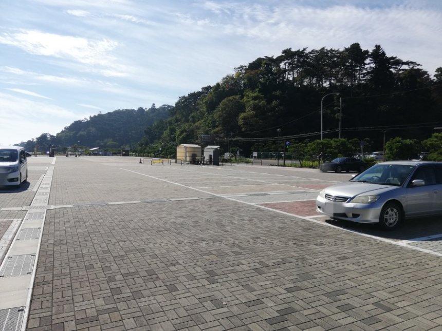 松島公園の駐車場