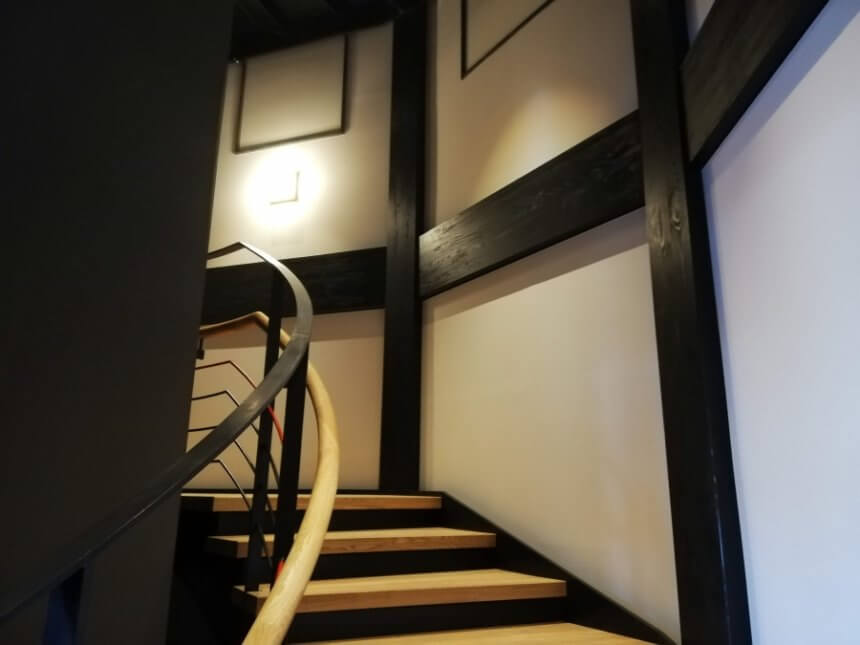 レツルタワーの内部階段