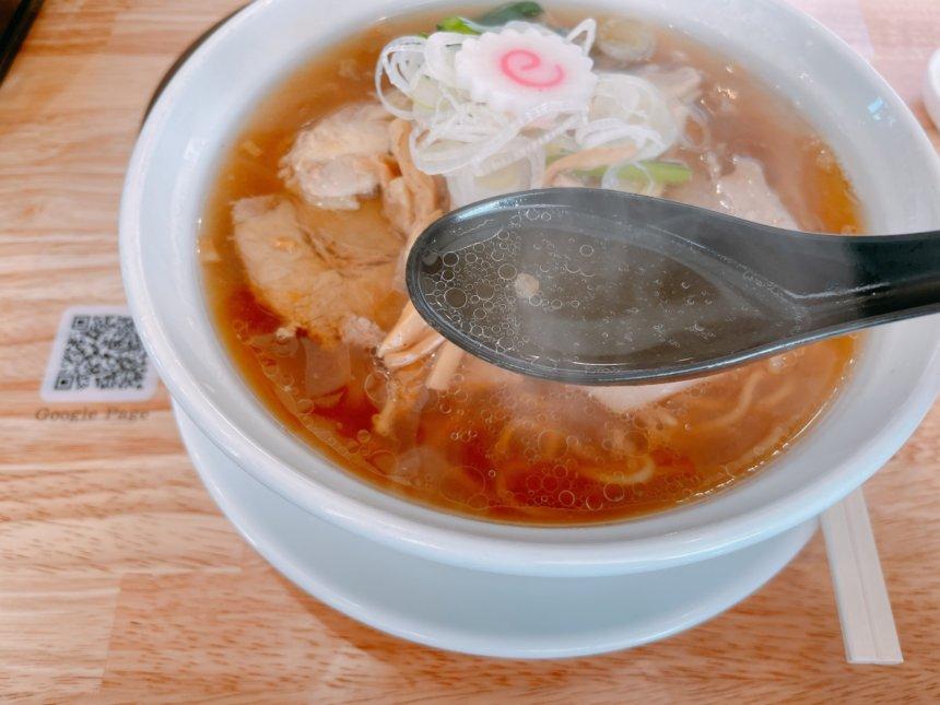千丸中華そばのスープ