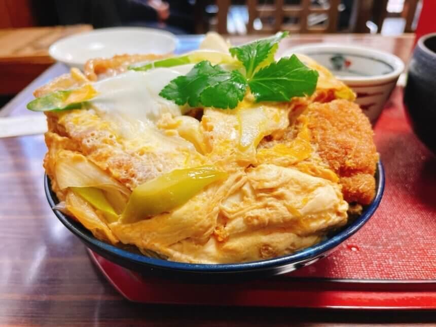蕎麦すゞきのカツ丼