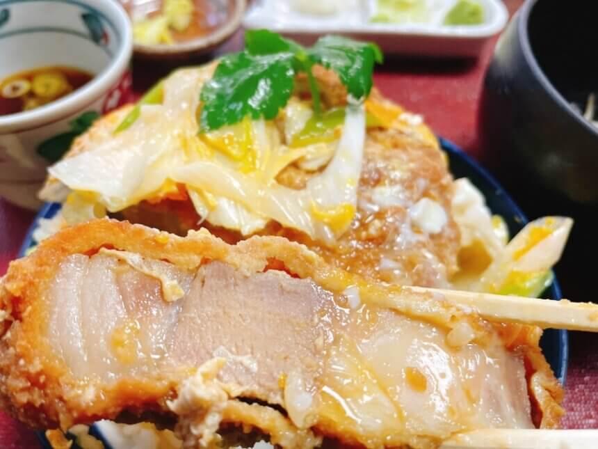カツ丼の肉