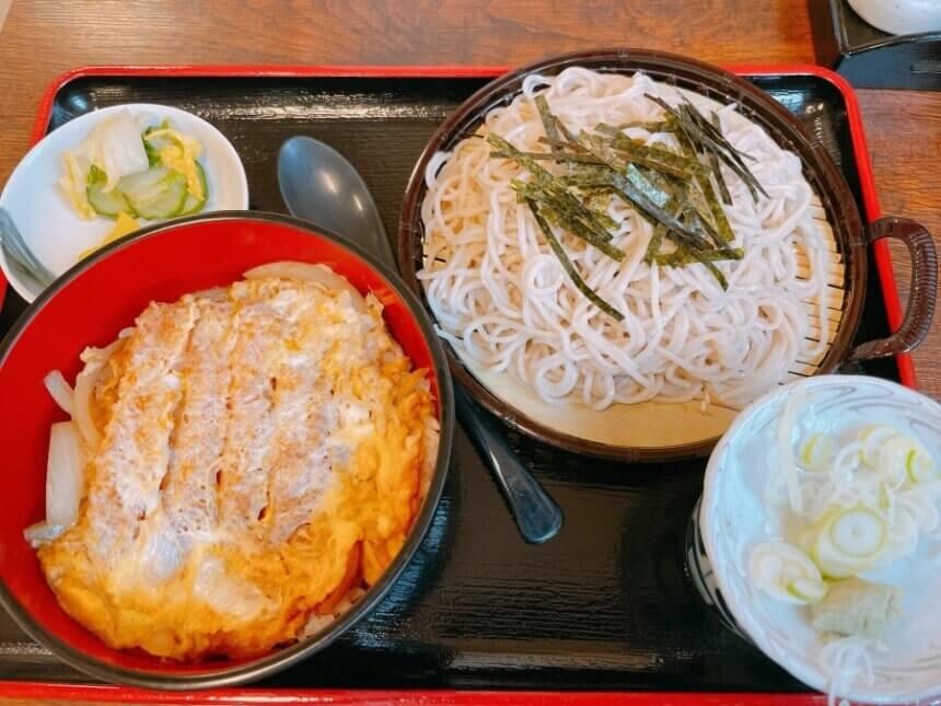カツ丼と蕎麦のセット