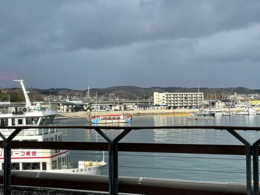 塩釜港の景色