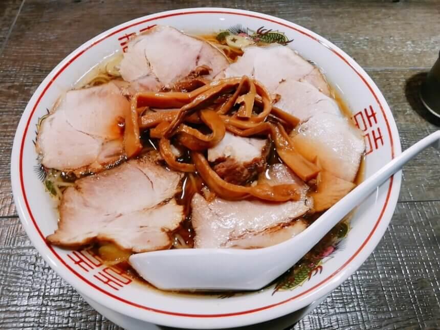 カラテキッドの肉中華ソバ