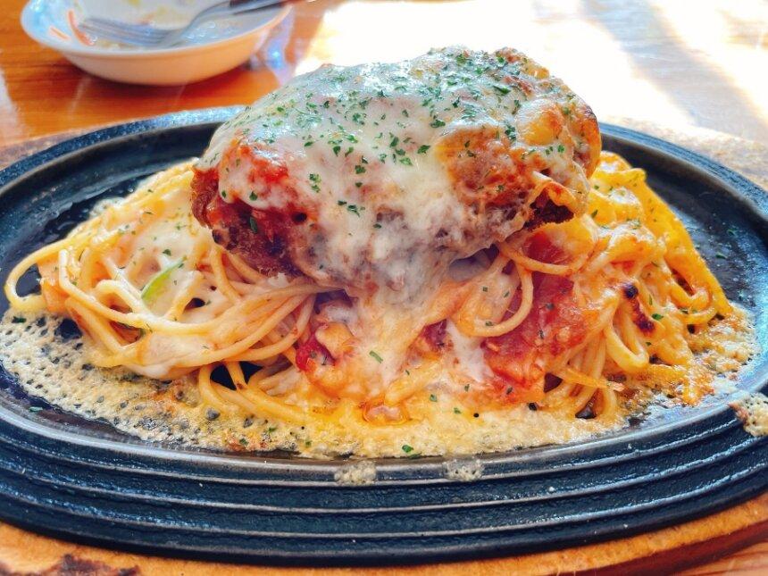 チーズ焼きスパゲッティ