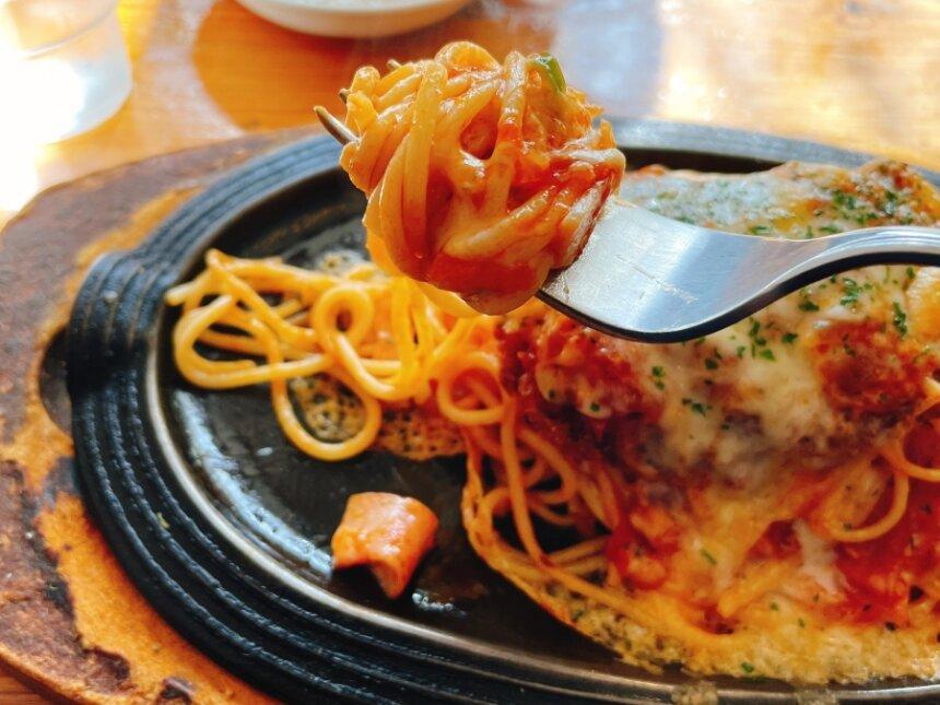 スパゲッティのアップ