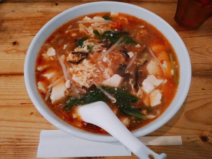 funk仙臺chinezeの酸辣湯麺