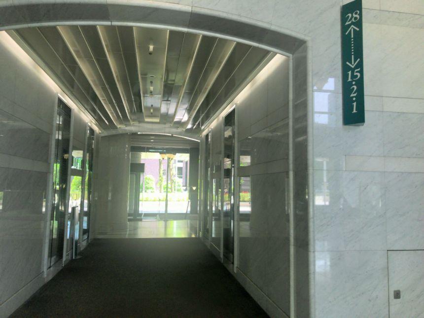SS30のエレベーター