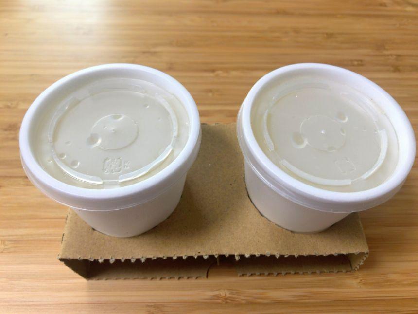 テールスープのカップホルダー