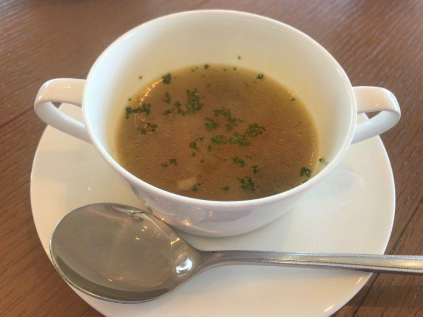 温野菜のスープ