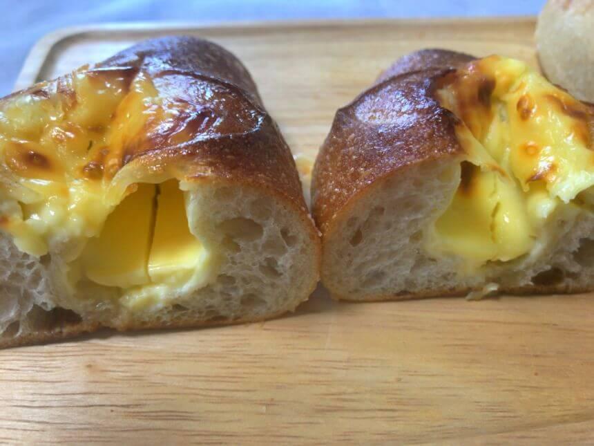 ハニーチーズフランスの断面