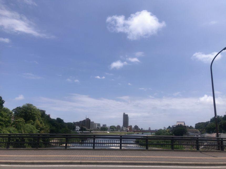 愛宕橋からの風景