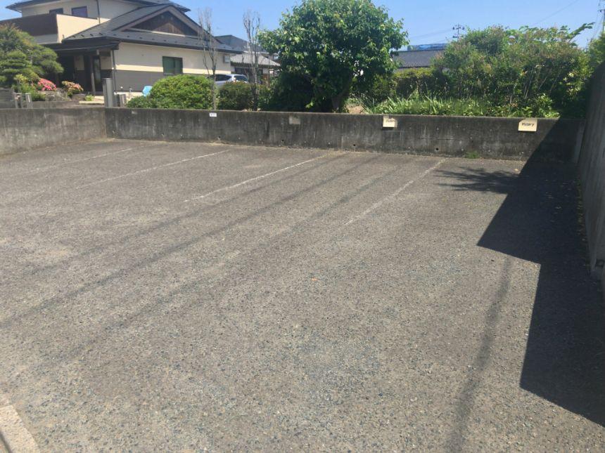 ビクトリーカフェの駐車場