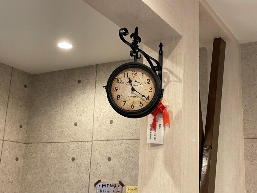 ロンドンブリッジ駅の時計