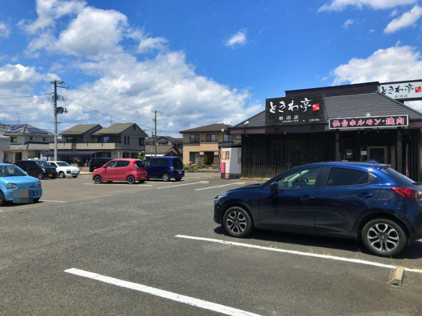 らー麺工房味噌屋岩沼分店の駐車場