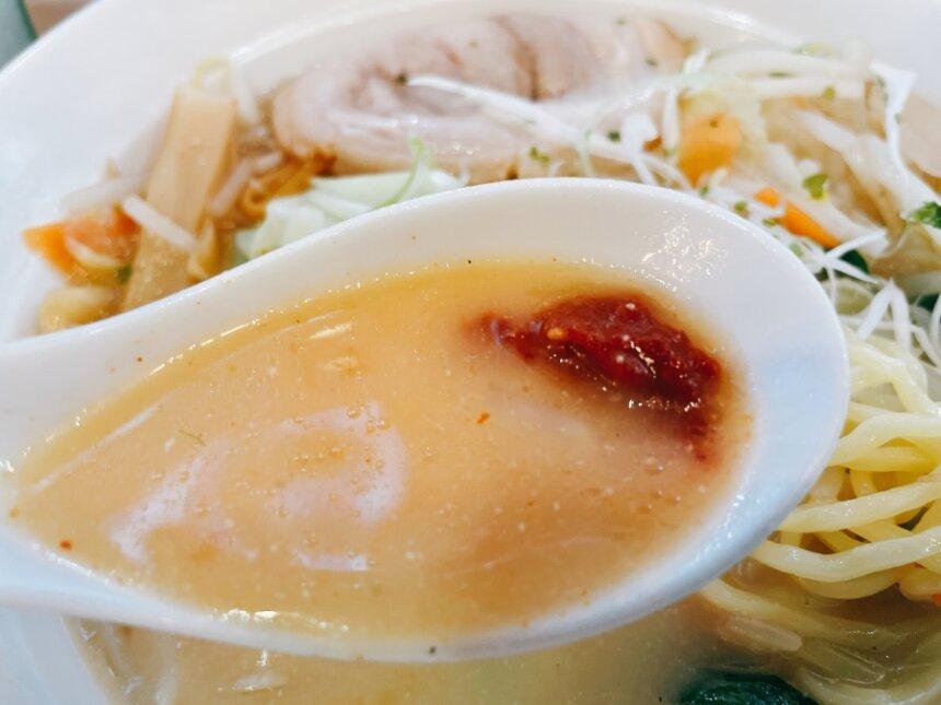 スープと辛味噌