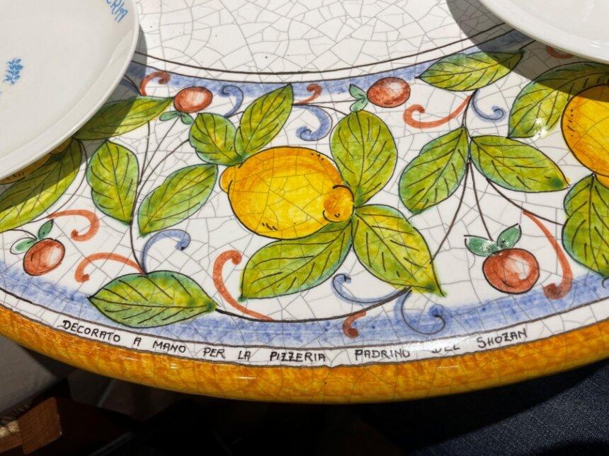 ピッツェリア ショーザン時代のテーブル