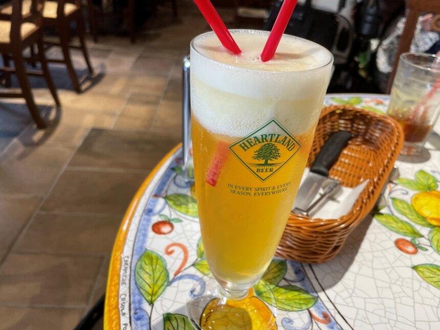 有機シチリアレモンスムージーの生ビール