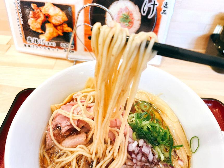 特製らぁ麺の麺