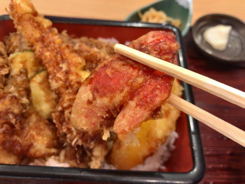 パプリカの天ぷら