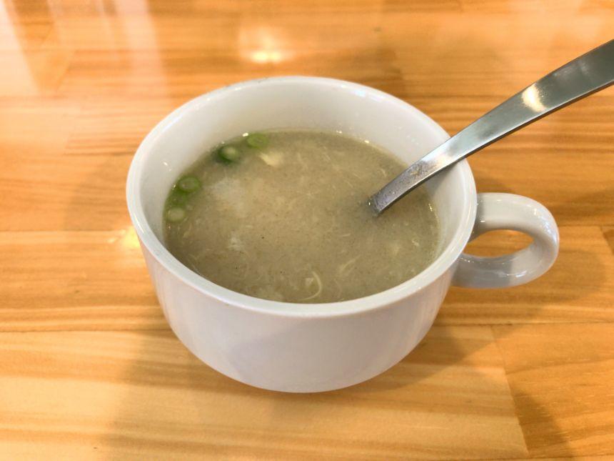 サービスのスープ