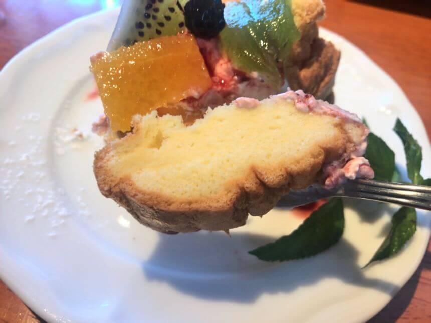 シフォンケーキのスポンジ