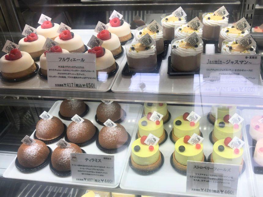ケーキケース(左上)