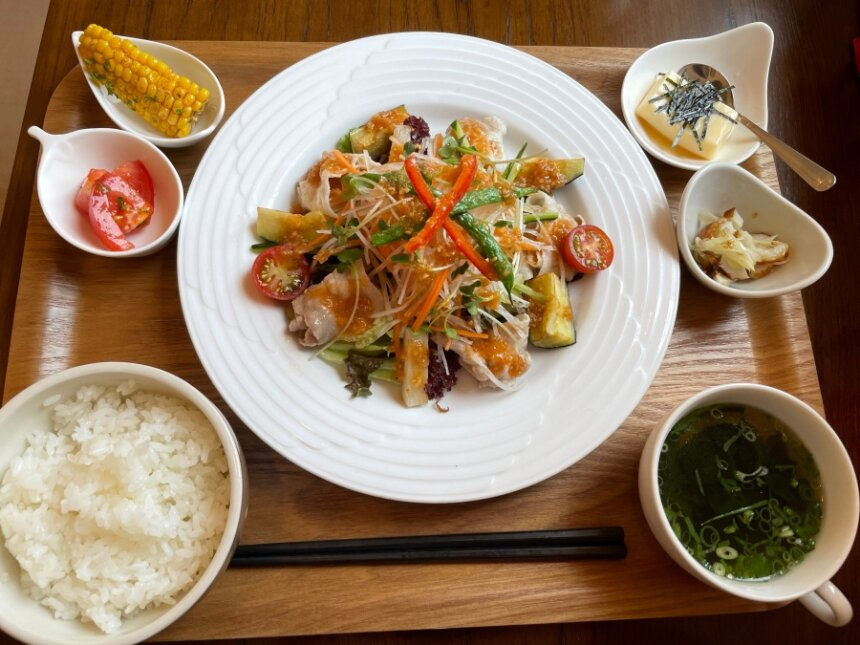 cafe pidの日替わりランチ
