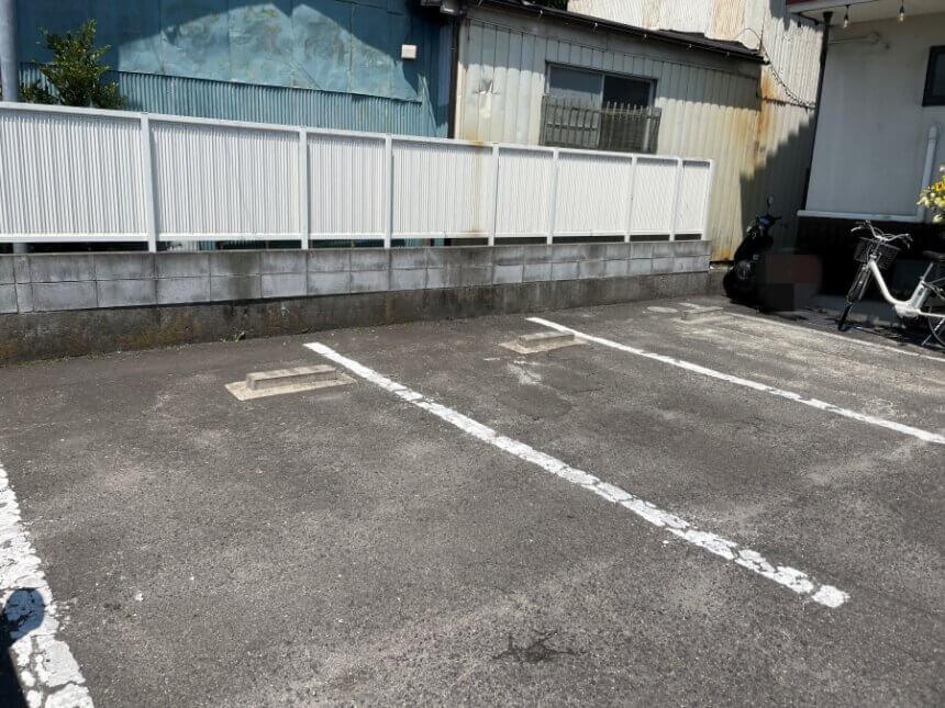 つけめんがふの駐車場