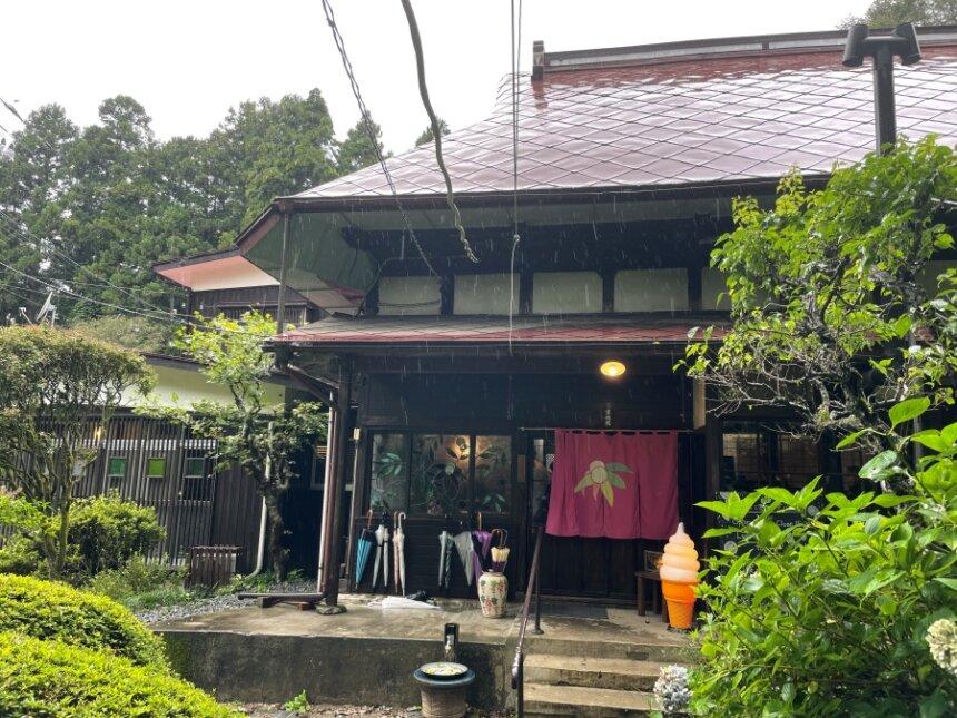 お寺cafe夢想庵の外観
