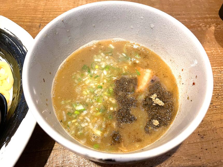 特製つけ麺のスープ