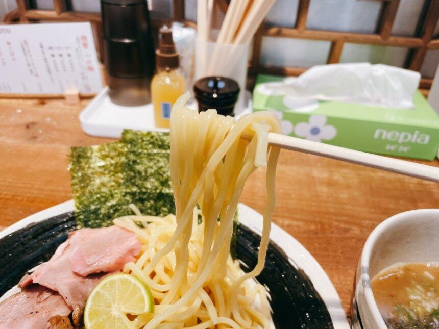特製つけ麺の麺