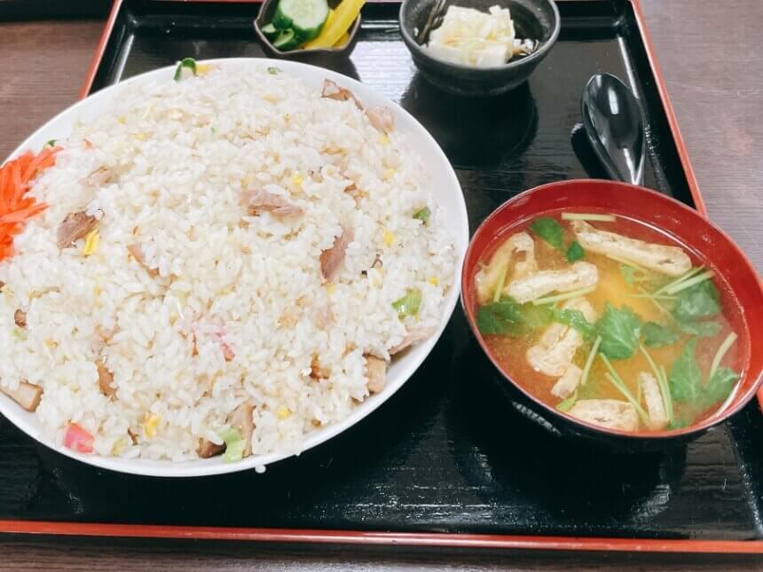 久美食堂のチャーハン