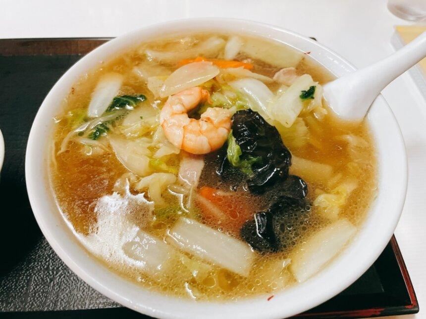 明華園の広東麺