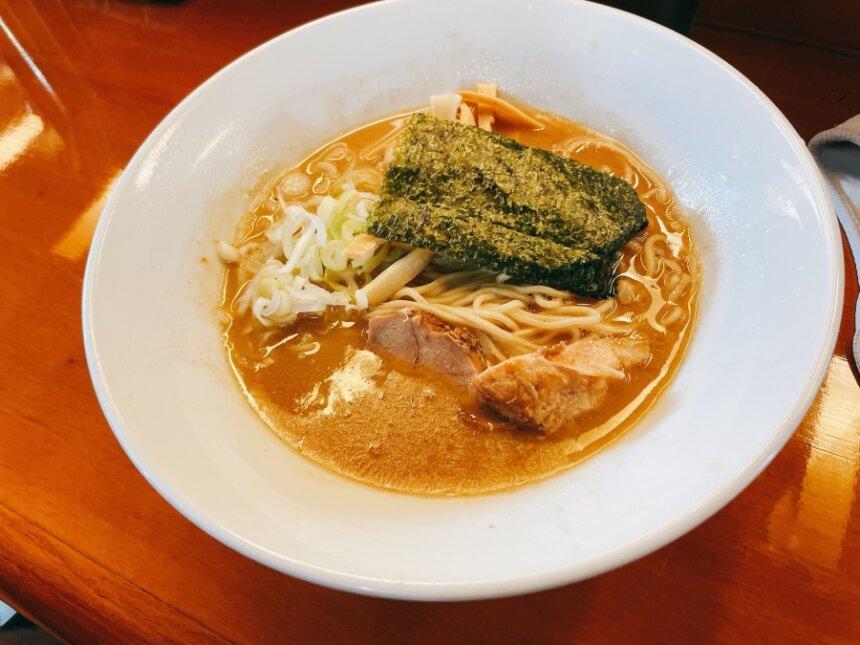 細麺・にぼしラーメン