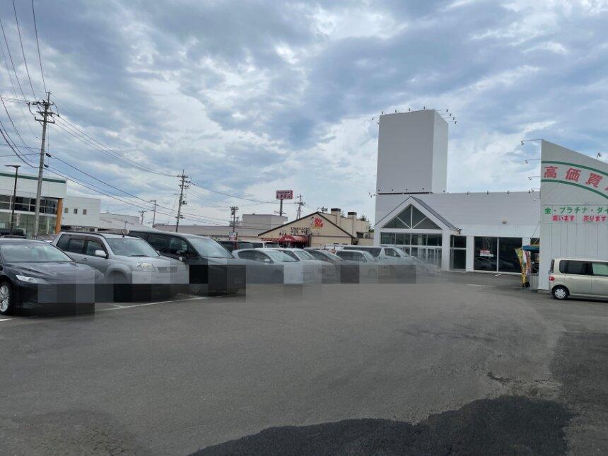 濃厚タンメンあおば岩沼店の駐車場